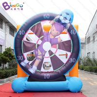 Personalized 3.9X1.3X4 meters soccer inflatable game / inflatable football target / football inflatable target toys sports