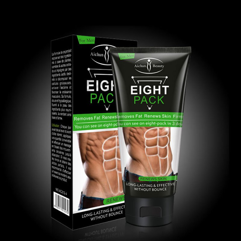 Stronger cream MEN Muscle Strong Anti Cellulite Fat Burning Cream Slimming Gel for Abdominals Weight Loss Product
