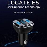XUNMA Cargador Del Teléfono Del Coche de Múltiples funciones de Posicionamiento Por Satélite GPS Posición Pantalla LED Cargador de Coche para Teléfonos Móviles