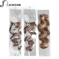 Joedir Pre Colored Brown Blonde Human Hair Indian Body Wave Hair Weave Bundles Remy Hair Extensions 1 Bundle P427#