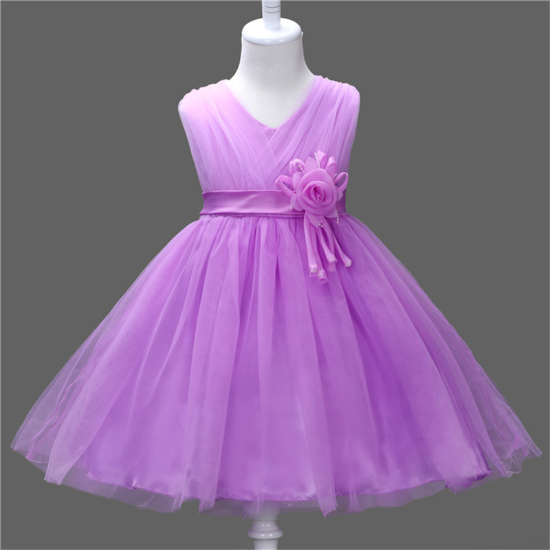 Girl New Party Dress Summer 2017 Wedding Tulle Princess Children Ball Clothing Girls Clothes Toddler Kids Dresses girls dress summer 2017 ball gwon girl children clothing brand clothes solid kids for princess party wedding toddler dresses