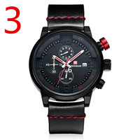 2019 Новое поступление Для мужчин; черные часы Бизнес календарь Мода Повседневное Нержавеющаясталь механические Кварцевые наручные часы