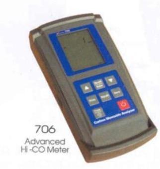 South Korea SUMMIT-706 portable gas detector high concentration of combustible carbon monoxide detector petzl summit 66cm