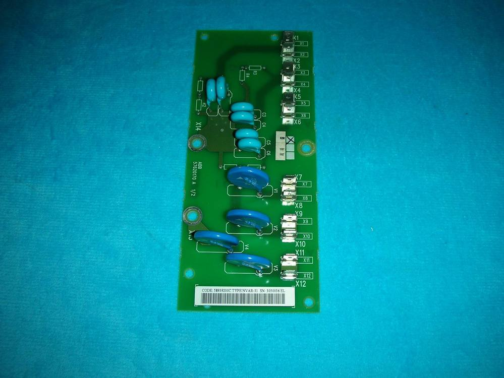 1PC USED NVAR-31 used ACS600 ABB series inverter power input board 1pc used e 05n koyo