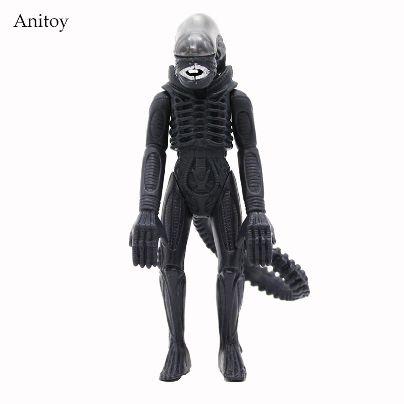 Movable Doll Model Fighting Style Alien PVC Action Figure Collectible Toy Doll 11.5cm KT4207 7 18cm neca official 1979 movie classic original alien pvc action figure collectible toy doll wf074