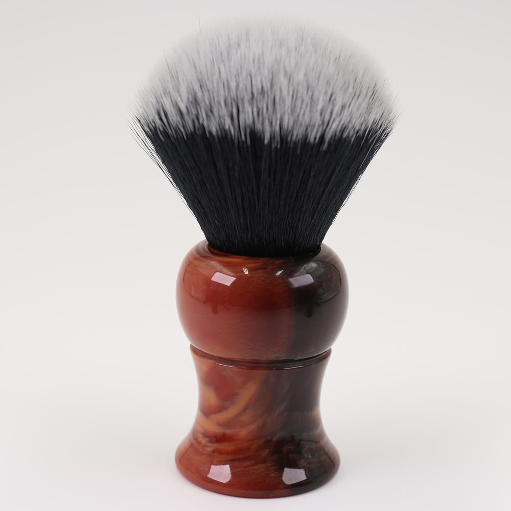 Big Size 26mm Men's Shaving Brush With Resin Handle Tuxedo Knot For Men Without Logo