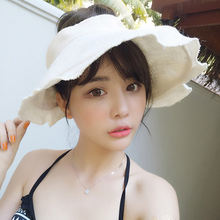 Woman Will Brim Of A Hat Go On Journey Joker Seaside Sandy Beach Hats Sun Cover The Face Defence Ultraviolet Rays