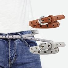 купить High Quality Female Heart Hollow Pu Leather Belt 103X2.8Cm Pin Buckle Belts Women Casual Fashion Belt For Pants Dress Ceinture по цене 227.96 рублей