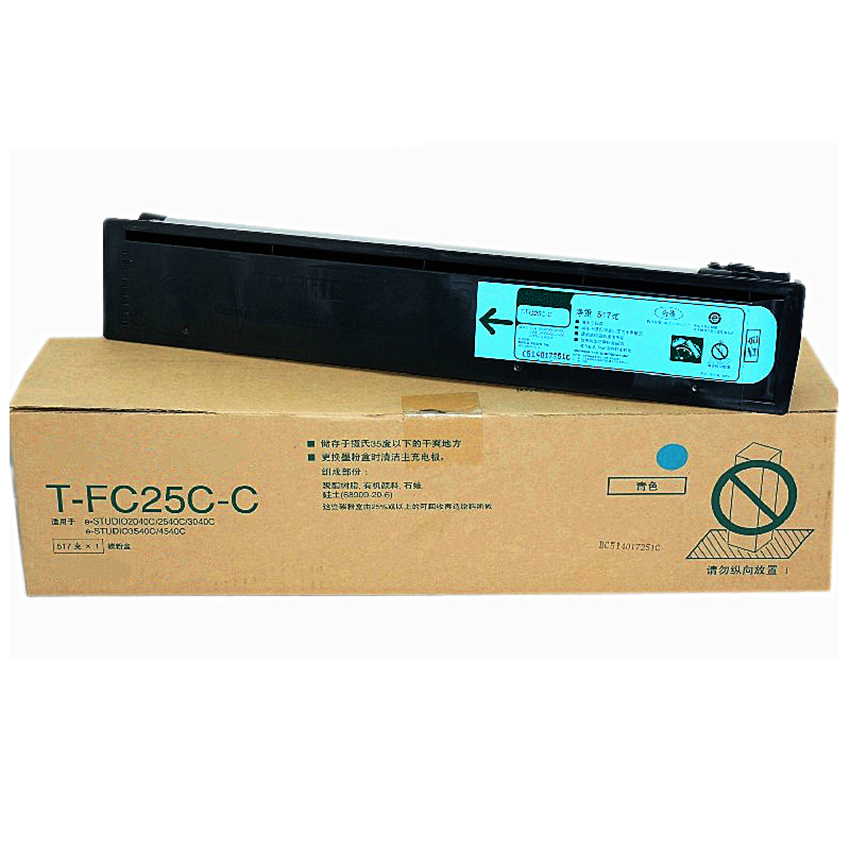 High Quality Toner Cartridge for Toshiba FC25 2040C 2540 3040 4540 4X/Set printwindow compatible toner cartridge for toshiba fc25 2040c 2540 3040 4540 4x set