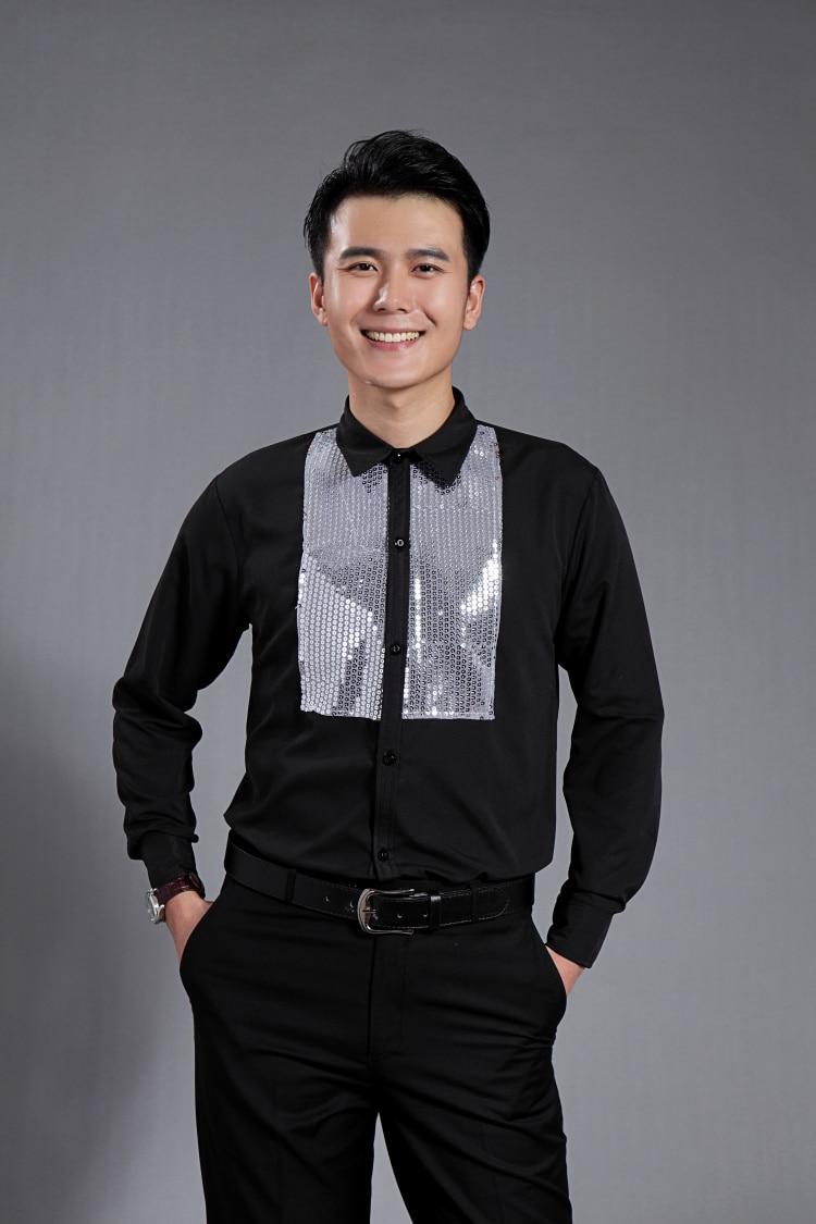 Online Get Cheap Men Party Wear Shirts Black -Aliexpress.com ...
