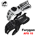 moto Furygan AFS10 Motocycle Gloves Racing protection Cycling Gloves Moto Full Finger Gloves tactical Genuine leather gloves