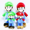 Super Mario Brothers Doll Mario Stuffed Plush Toy Doll Pillow Chidren Doll for Gifts