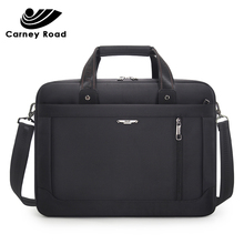 Carneyroad Business Men Briefcase 15.6 inch Laptop bag Oxford Waterproof Men Handbag Casual Messenger Bags fashion 2019