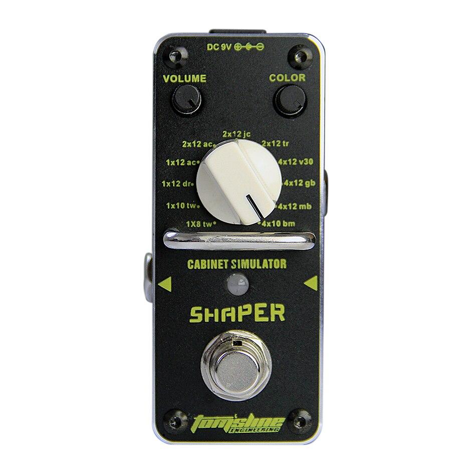 Аромат ASR-3 формирователь классический симулятор Кабинета гитара аналоговый эффект Правда Обход прочный металлический корпус