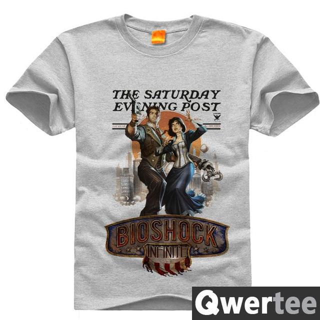 original design bioshock print fashion style casual t shirt t shirt