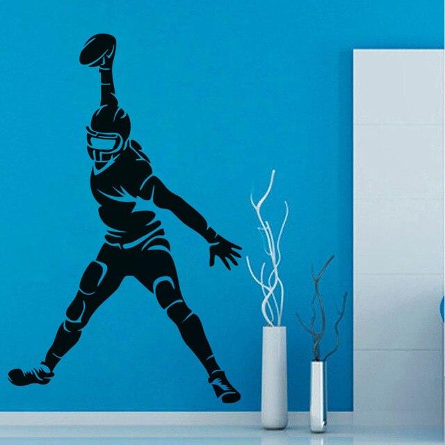DCTOP Super Sport Aufkleber Aufkleber American Football Vinyl Kunst ...
