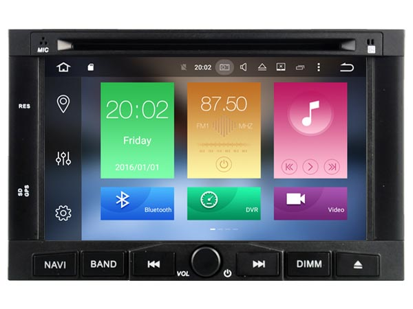 Octa 8 Core Android 6 0 font b CAR b font DVD player FOR PEUGEOT 3008