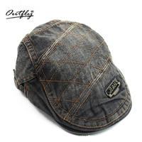 Cowboy Berel Hood Water Grinds Old Canvas Cowboy Leisure Hat Cap Iron Short Eave Fashion Hat
