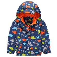 Warm Waterproof Windproof Baby Boys Girls Jackets Child Coat Children Outerwear For 3-12T