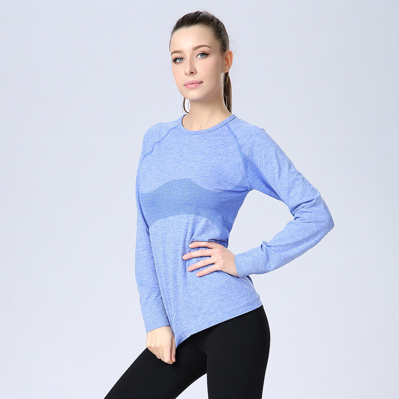new concept half price better price for US $10.9  Fitness casual t shirt compression tights women's exercise t  shirts long sleeve t shirts undershirt women clothes tees & tops-in  T-Shirts ...