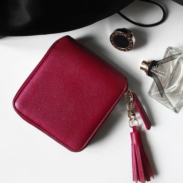Top Quality Square Wallet 3Colors