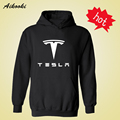 TESLA MOTORS Hooded Mens xxxl Hoodie in FRIDAY Famous Brand TESLA long black gray men's Hoodies Men Hip Hop Sweatshirts 4XL