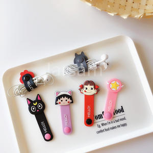 Winder-Cover Cord-Protector Protective-Case Cable Data-Line iPhone Cartoon