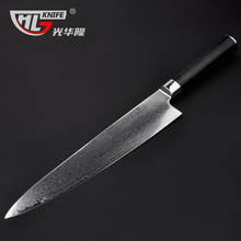 9.5 Inch Japanese VG10 damascus knives new Kitchen Knife very sharp meat cutting damascus meat  Cleaver  couteau cuisine