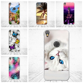 Case for Alcatel Shine Lite 5.0 inch Cases Back TPU Cover for alcatel shineline 5080x Covers Soft Silicone Coque Cartoon Fundas image