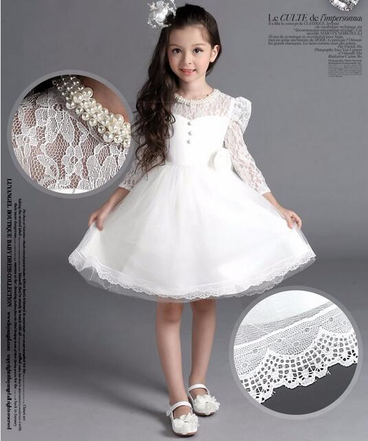 Birthday Outfit For Mom: 2017 Four Seasons Dress For Baby Girl Christening Gown 1st