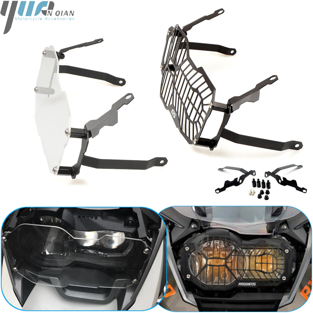 <font><b>Moto</b></font> Headlight Grille Guard Protector Cover For <font><b>BMW</b></font> R1200GS R <font><b>1200</b></font> <font><b>GS</b></font> <font><b>LC</b></font> ADV 2012 2013 2014 2015 16 17 2018 Stainless steeless image