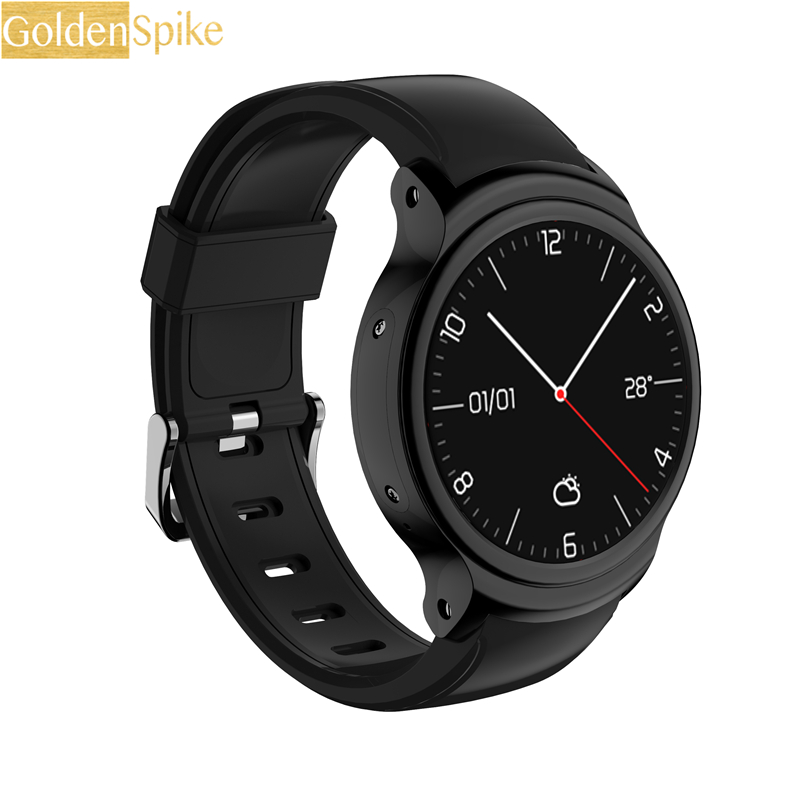 GOLDENSPIKE I3 Smart Watch 1.5 Inch MTK6580 Quad Core 1.3GHZ Android 5.1 3G Smart Watch 500mAh 2.0 Mega Pixel Heart Rate Monitor goldenspike i3 smart watch 1 5 inch mtk6580 quad core 1 3ghz android 5 1 3g smart watch 500mah 2 0 mega pixel heart rate monitor