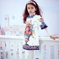 Kidsalon Princess Dress Vestido Robe Fille Printed Toddler Girl Dresses Girls Clothing Girls Dresses For Party