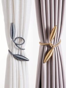 Image 1 - 2 個任意形状強力なカーテン Tiebacks