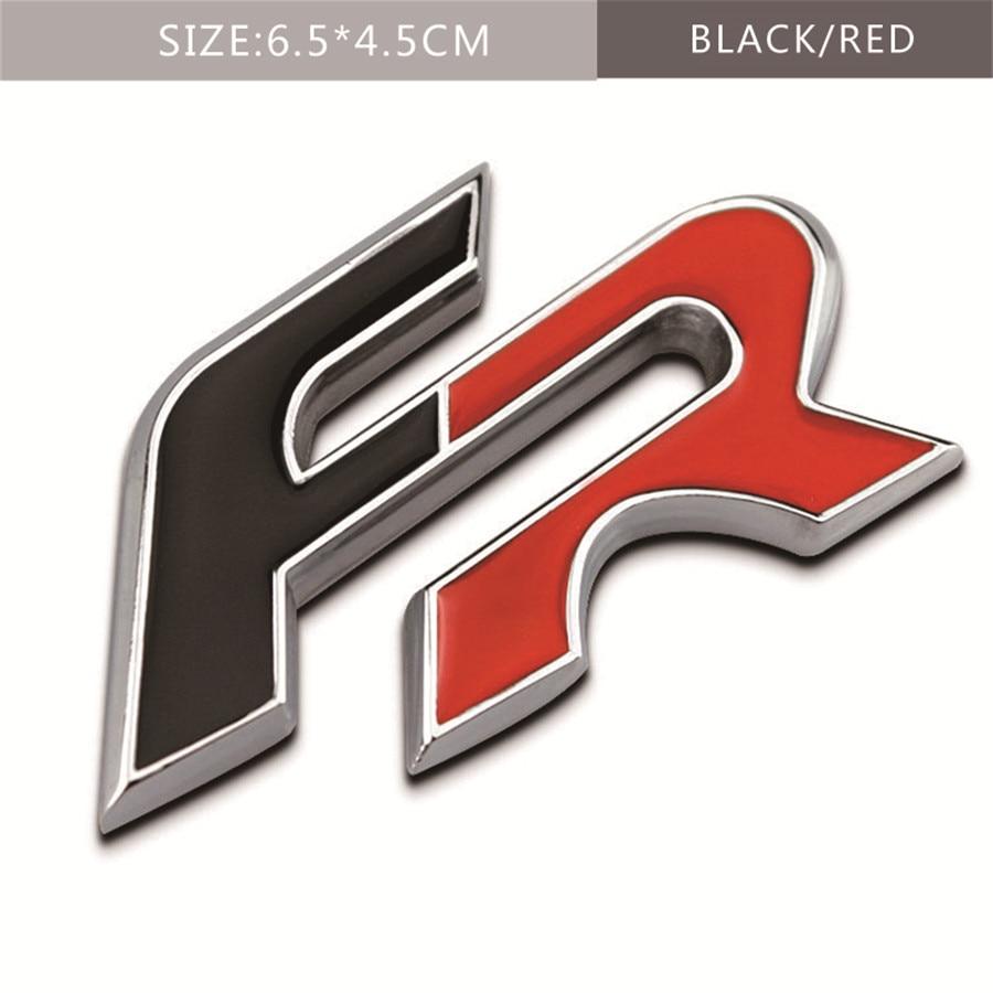 BLACK Chrome 3D Metal SPORT Badge Sticker for Seat Leon Ibiza Cupra Exeo Altea