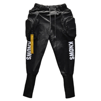 Spring Summer Hip hop Joggers Cargo harem pants men Long Big pockets Zippers White Black