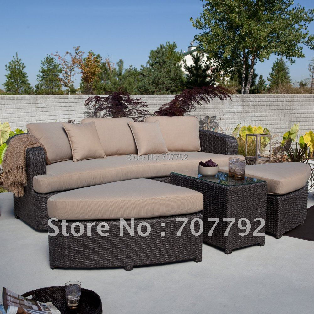 Montclair all weather wicker sectional sofa set di taman sofa dari furniture aliexpress com alibaba group