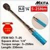 MXITA 1 4 5 25Nm Accuracy 3 High Precision Professional Adjustable Torque Wrench Car Spanner Car