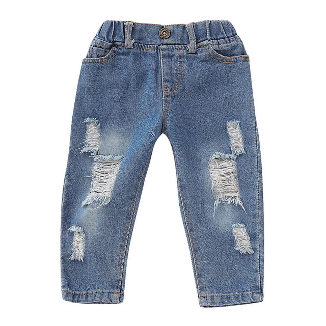 Baby Girls Floral Crop Tops+Hole Denim Pants Jean Toddler Kids Clothes Sets New Year's suit for a Girls brand costume for girl