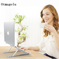 2019 Laptop Stand Folding Portable Adjustable Laptop Office Lapdesk.Ergonomic Notebook Stand Heighten Holder Support 10 15 Inch