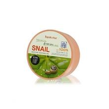 FARM STAY Moisture Soothing Gel Snail 300ml Hydrating Serum Acne Scar Treatment