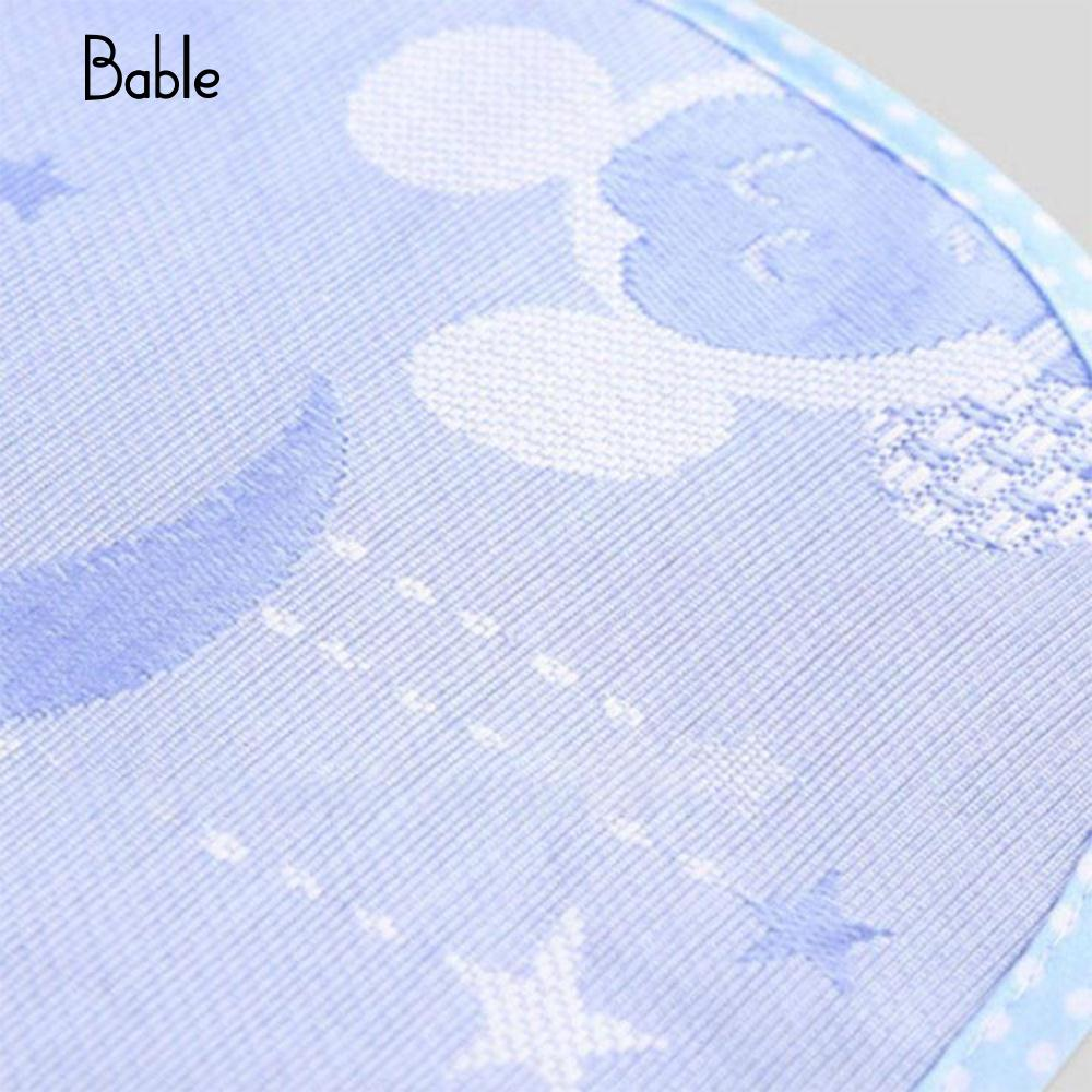 Surface : Ice Silk Fiber Cool Mat for Baby Carriage Baby Stroller Slippery Stroller Mat Baby Care Thin Baby Chair Mat Protector