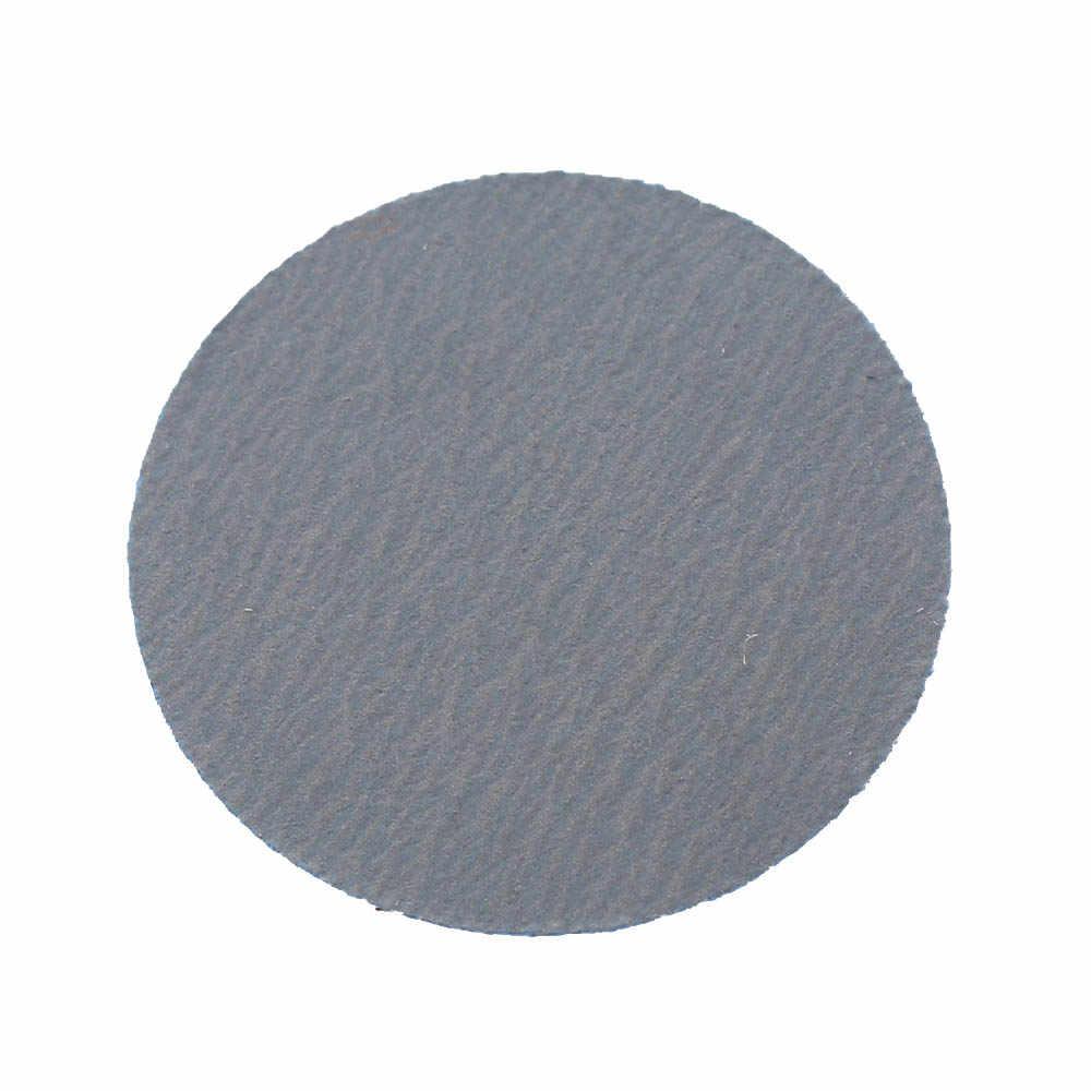 100 pçs/saco 25mm 80-5000 Grit Lixa de Papel Redonda com Almofada de Lixamento Lixa