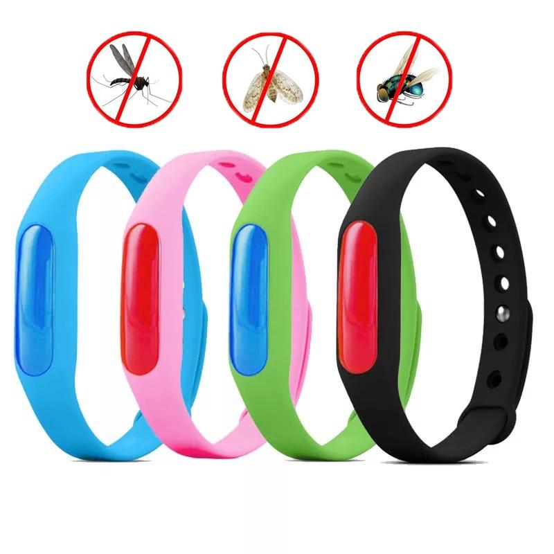 Силиконовый браслет для отпугивания насекомых Wristband