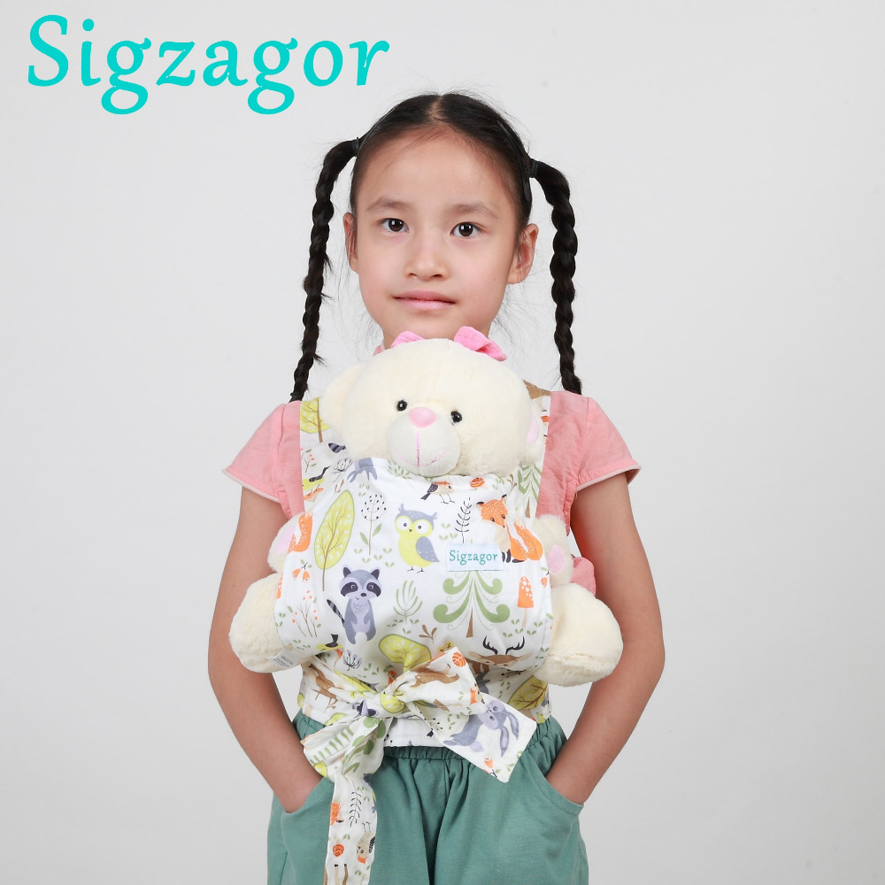Backpacks & Carriers Baby Doll Carrier Sling Toy Children Toddler Gift Wrap Carrier Sling Adjustable For Kids 2-6 Year