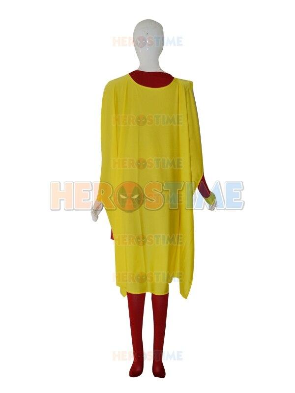 Supergirl Disfraz Personalizado Rojo y Amarillo Mujer Spandex - Disfraces - foto 4