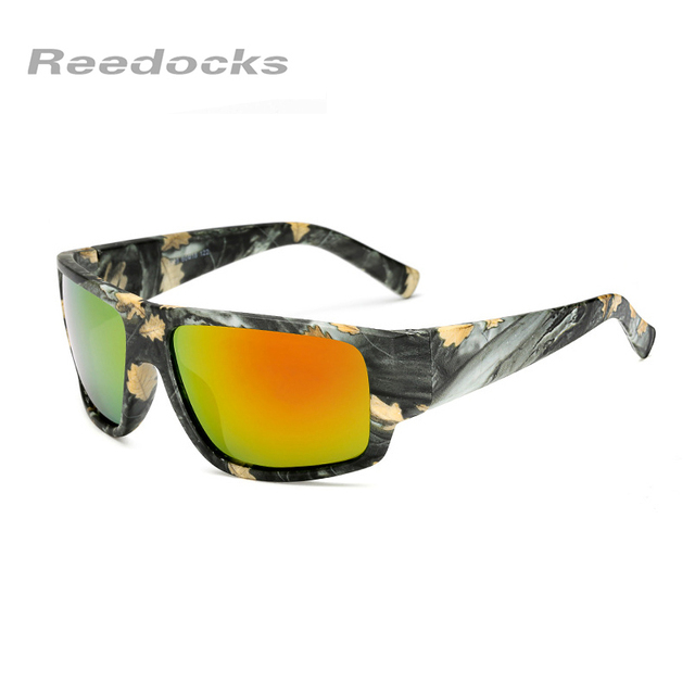 593f62554c REEDOCKS Polarized Fishing Sunglasses Yellow Red Blue Lenses Night Version  Men Women Glasses Outdoor Sport Driving Eyewear UV400