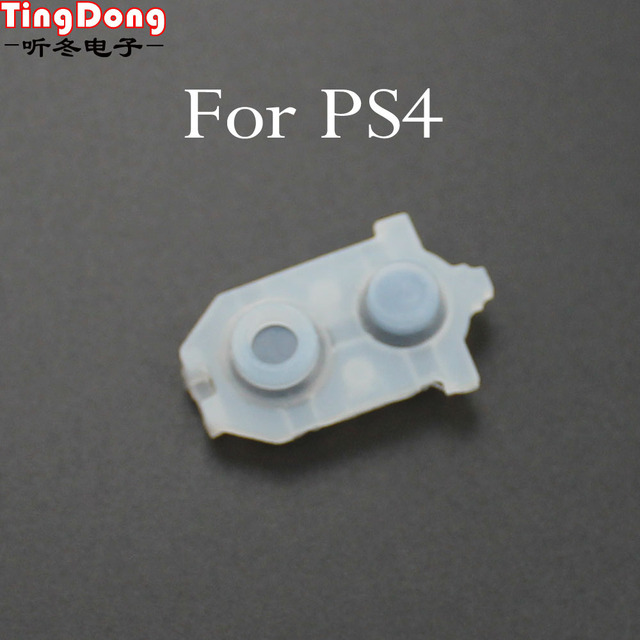 Soft Rubber Replacement For PlayStation DualShock 4 1000 1200 Silicone Conductive Adhesive Button for Sony PS4 Controller 1