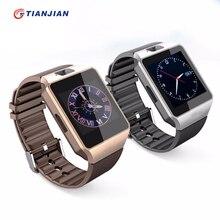 Bluetooth Smart часы DZ09 с Камера SmartWatch шагомер черный Здоровье Спорт MP3 часы Мужчины Женщины SmartWatch для Android