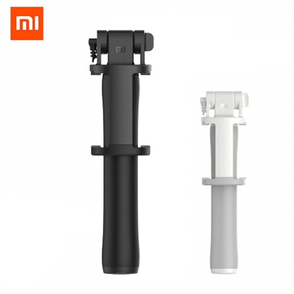 D'origine Xiaomi selfie bâton Manfrotto Titulaire D'obturation Extensible De Poche Filaire Selfie Bâton Obturation pour IOS Android Téléphone Mobile